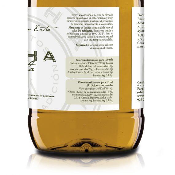 Etiqueta garrafa AOVE Maxi 2L