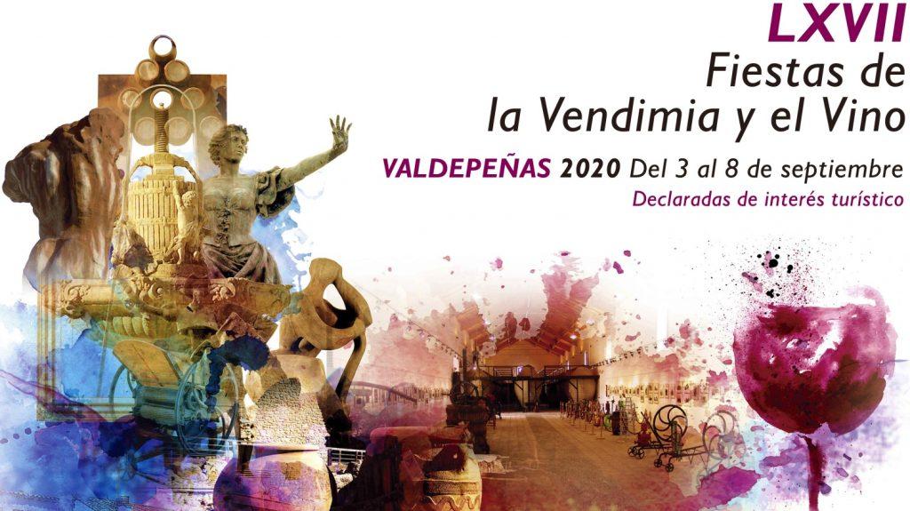 cartel fiestas del vino 2020